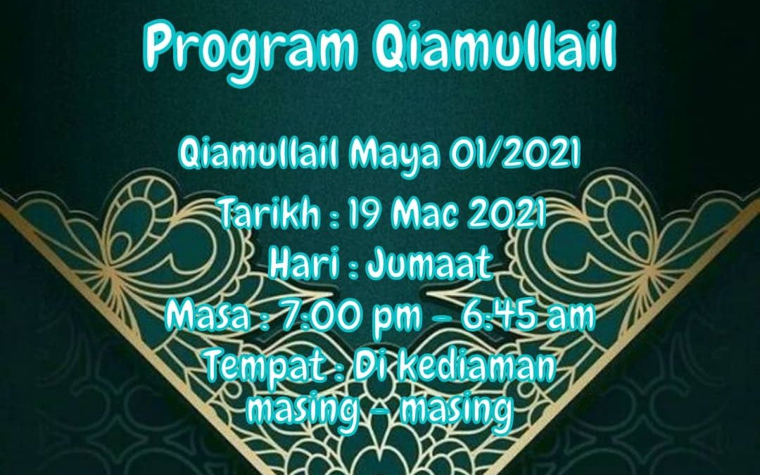 Program Mabit/Qiamullail SMI Al-Itqan 01/2021 secara atas talian